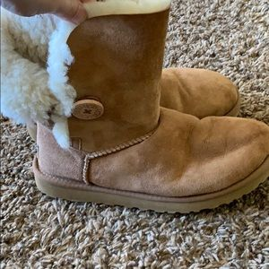 Ugg Button Boots
